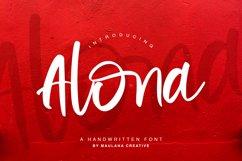 Alona - Handwritten Font Product Image 1