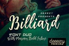 Billiard Font Duo Product Image 1