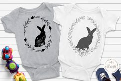 Easter Bunny Bundle Line and Silhouette/ 6 Product Image 5