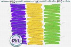 Mardi Gras brush strokes background Sublimation design png Product Image 1