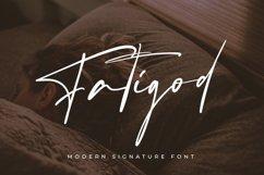 Fatigod - Luxury Script Product Image 1