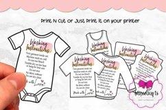 T-shirt Care Card Set, T-Shirt Washing Instructions Card Product Image 1