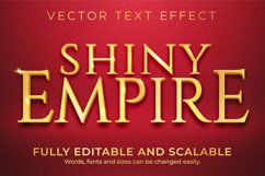 Golden shiny text effect, luxury and elegant text style Product Image 1