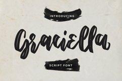 Web Font Graciella - Script Font Product Image 1