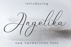 Web Font Angelika Product Image 1
