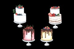 Watercolor cakes set Product Image 3