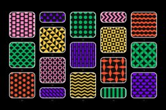 Bold geometric seamless patterns collection Product Image 4