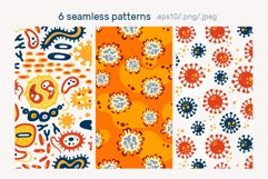 BACTERIUMS patterns & illustrations Product Image 6