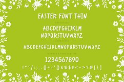 Easter Spring display fonts - Trio Product Image 5