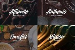 Web Font Alfien Product Image 4