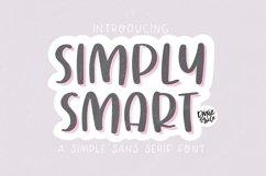 SIMPLY SMART Simple Sans Font Product Image 1