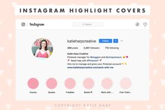 Instagram Highlight Covers - Blush Pink Solid Colors Product Image 4