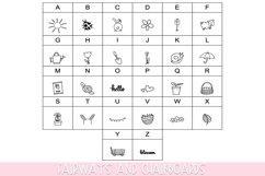 Spring Doodle Font   Doodle Font Product Image 2