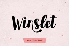 Winslet - Bold Script Font Product Image 1