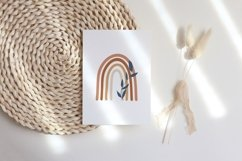 Boho Rainbow Printable, Boho Nursery Room Decor Product Image 2