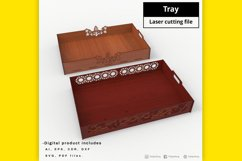 Tray - laser cut file Product Image 4