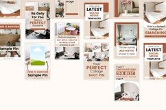 Vintage x Fall Pinterest Canva Template Product Image 3