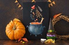 Happy Halloween watercolor set Product Image 6
