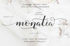 Monatia - Elegant Script Product Image 7