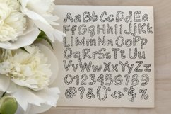 Wrapped in ribbon sketch font Product Image 6