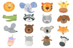 Papercut Animals Clipart Product Image 2