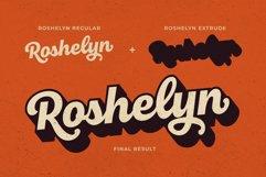 Roshelyn Typeface Product Image 3