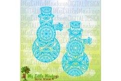 Snowman Mandala  Product Image 1