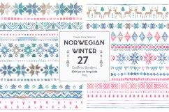 Norwegian Winter: Seamless Patterns Product Image 4