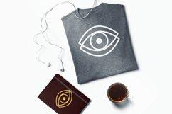 Eyes SVG, Eyes Silhouettes, Boho Eyes, Witchy Mystical Eyes Product Image 2