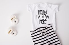 Web Font Stay Awesome - A Cute Hand-Lettered Font Product Image 2