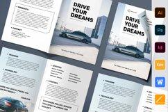 Car Dealership Brochure Bifold Product Image 1