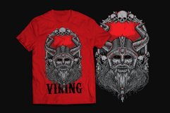 Viking T-Shirt Design Product Image 2