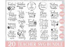 Teacher Svg Bundle, Teacher Svg, Teacher SVG Files, Teacher Product Image 1