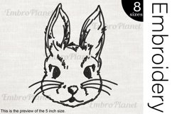 Bunny - Embroidery Files - 1471e Product Image 1