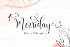 Merriday Script Product Image 1