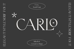 Carlo Elegant Serif Font Product Image 1