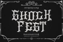 Shockfest Blackletter Product Image 1