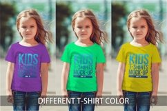 Kids T-Shirt Mock-Up Vol 3 Product Image 3