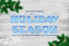 Holiday Season - ice font Product Image 1