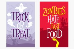 Mitoos Halloween typeface with extras Product Image 4