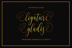 Ligature Gladis Product Image 1