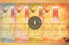 Rose of Sharon Church Flyer Template Product Image 6