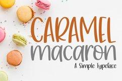 Caramel Macaron Product Image 1