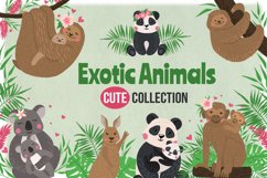 Vector Exotic Animals Collection Product Image 1