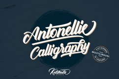 Antonellie Hand Lettered Script Product Image 2