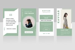 Kaviar Instagram Stories Template Product Image 3