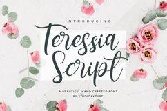 Teressia Script Product Image 1