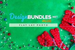 Christmas Flat Lay | Fun reindeer antlers Product Image 1