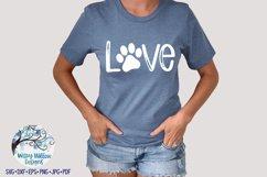 Paw Print Love SVG Bundle | Dog SVG Bundle Product Image 3