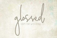 Glossed Script Product Image 1